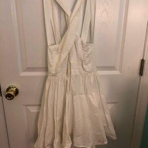 🔥CUTE WHITE DRESS